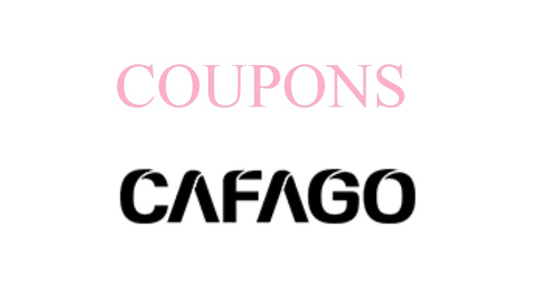 cafago coupon code and deals