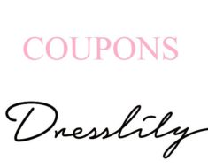 dresslily coupon code and deal