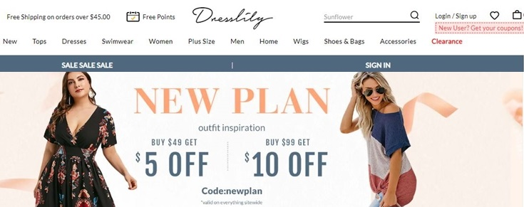 dresslily coupon code and deals