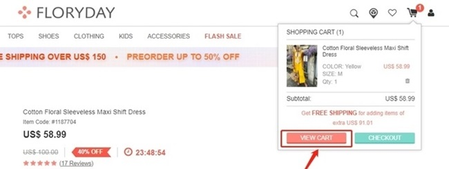 how to order and use floryday coupon code 2
