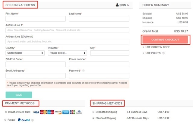 how to order and use floryday coupon code 4