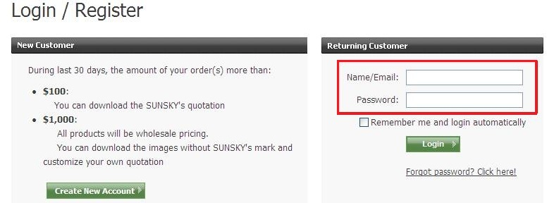 how to place order and apply sunsky online coupon code 2