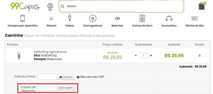 How to use 99Capas BR coupon codes