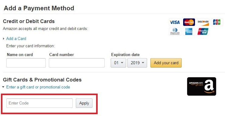 how to use amazon coupon code