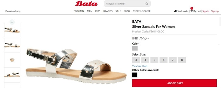 How to use a Bata coupon code1