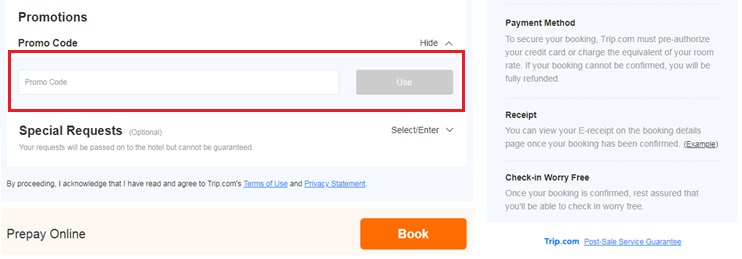 how to use hotellook coupon code 1