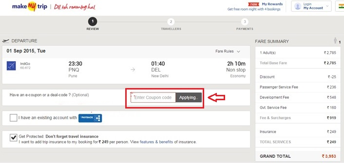 Use makemytrip coupon for Book Flight Plus Hotel Combo & Save More