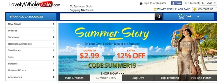 lovelywholesale coupon code and deal