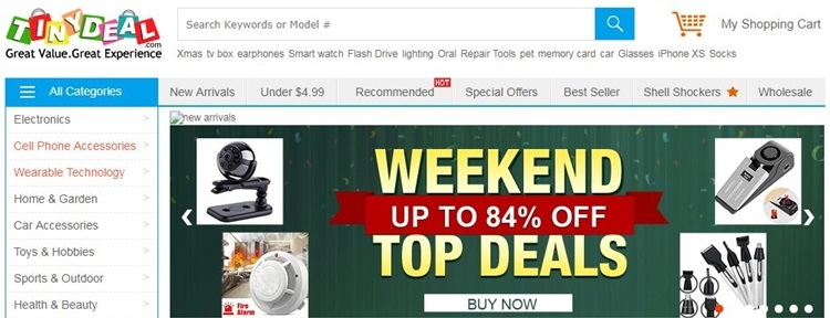 about tinydeal coupon code
