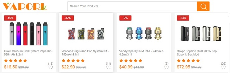 vaporl coupon code and offers