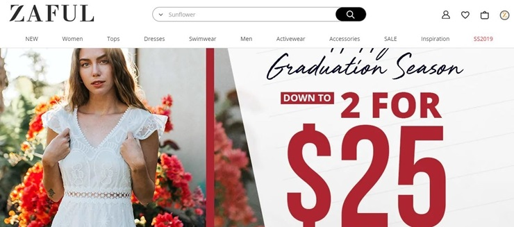 zaful coupon code and deal