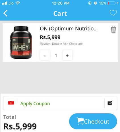 how to use healthxp coupon