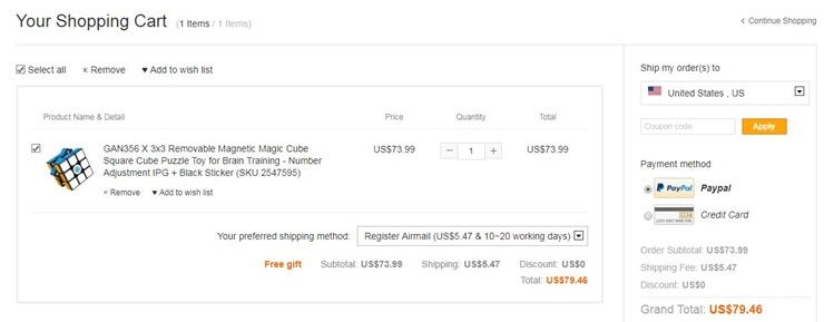 How to use Magiccubemall coupon code