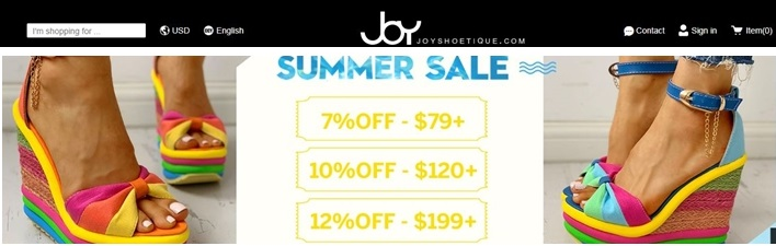 joyshoetique coupon codes and offers