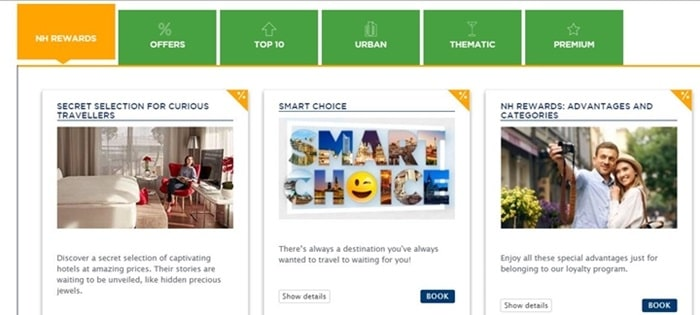 About nh hotels coupon code & deals