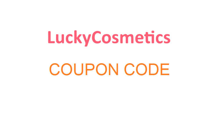luckycosmetics coupon code