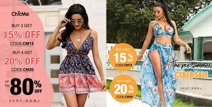ChicMe voucher code Discount