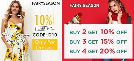 Fairyseason Voucher Code & discount code
