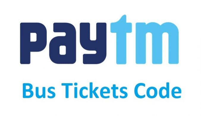 Paytm Bus Ticket Discount code