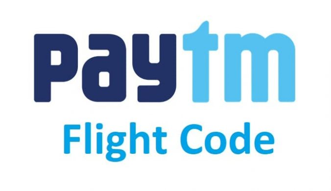 Paytm Flight promo code
