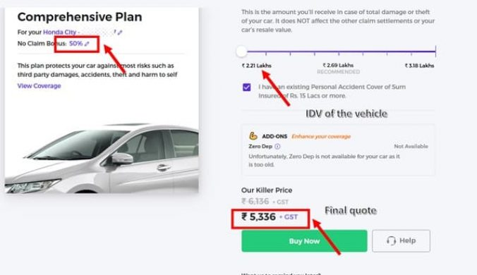 How to buy motor insurance from Acko