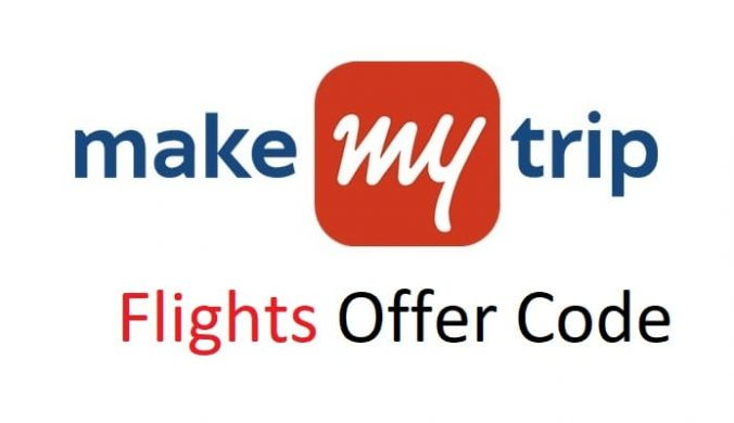 MakeMyTrip discount code Offer Domestic Flights